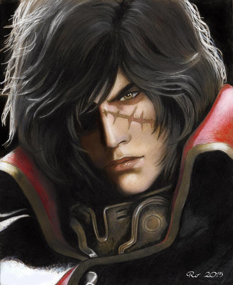 Harlock Ro by Redwarrior3