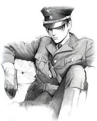 Levi uniform by Redwarrior3