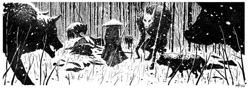 werewolf by superfanfan