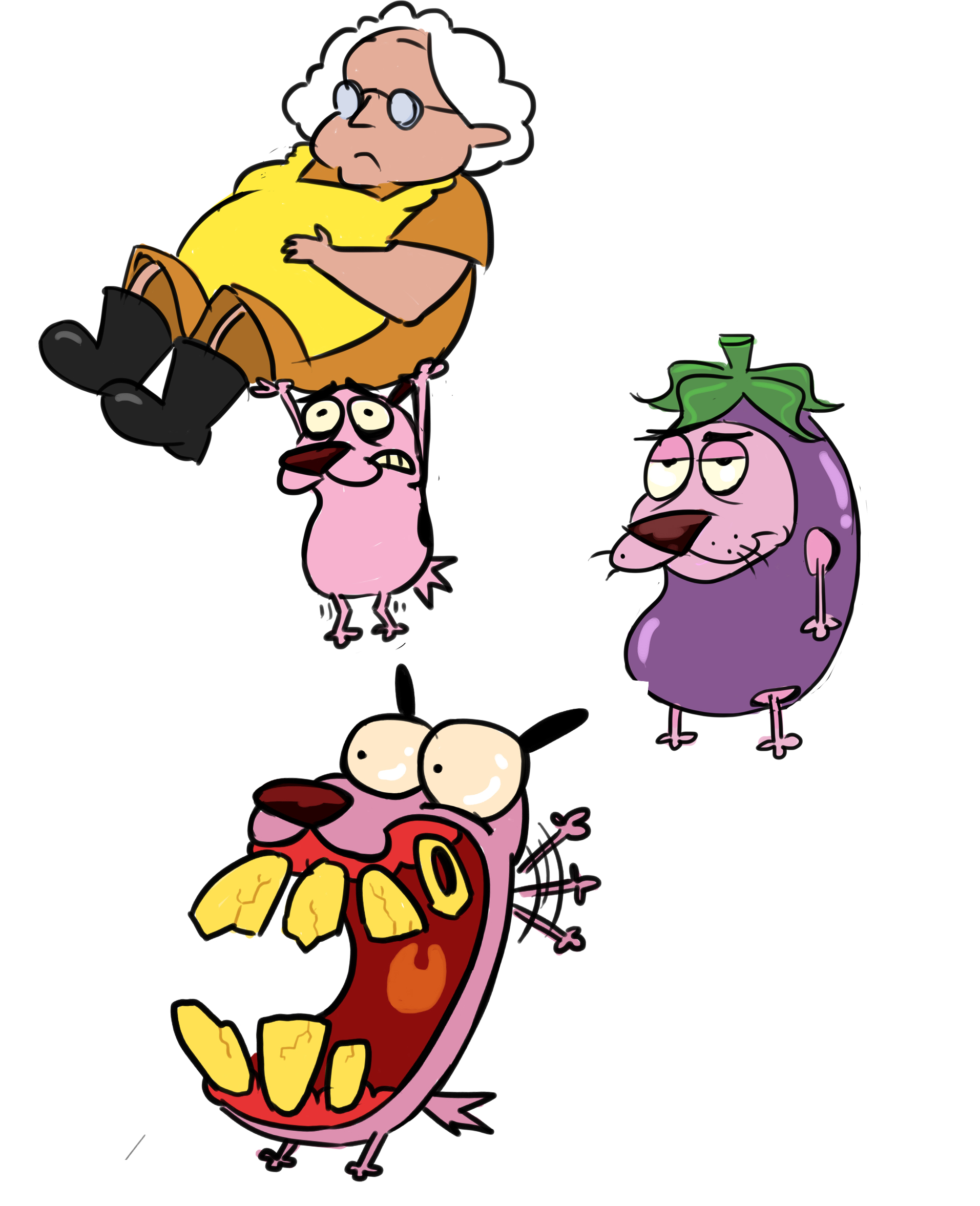 Watch courage the cowardly dog