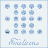 Emoticons by LoneAlchemist