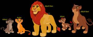Kion and Rani's Family