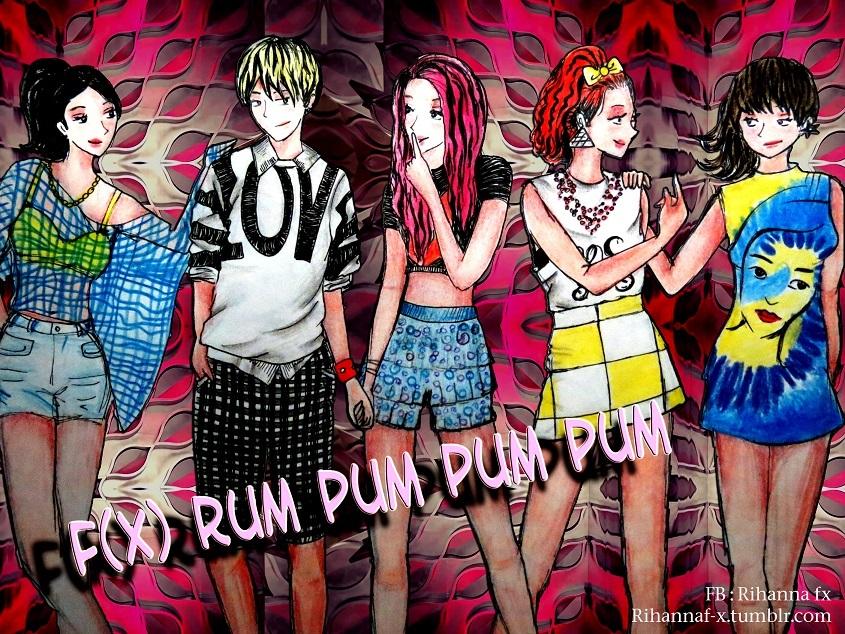 f(x) - Rum Pum Pum Pum by Rihannafx on DeviantArt F(x) Rum Pum Pum Pum Wallpaper