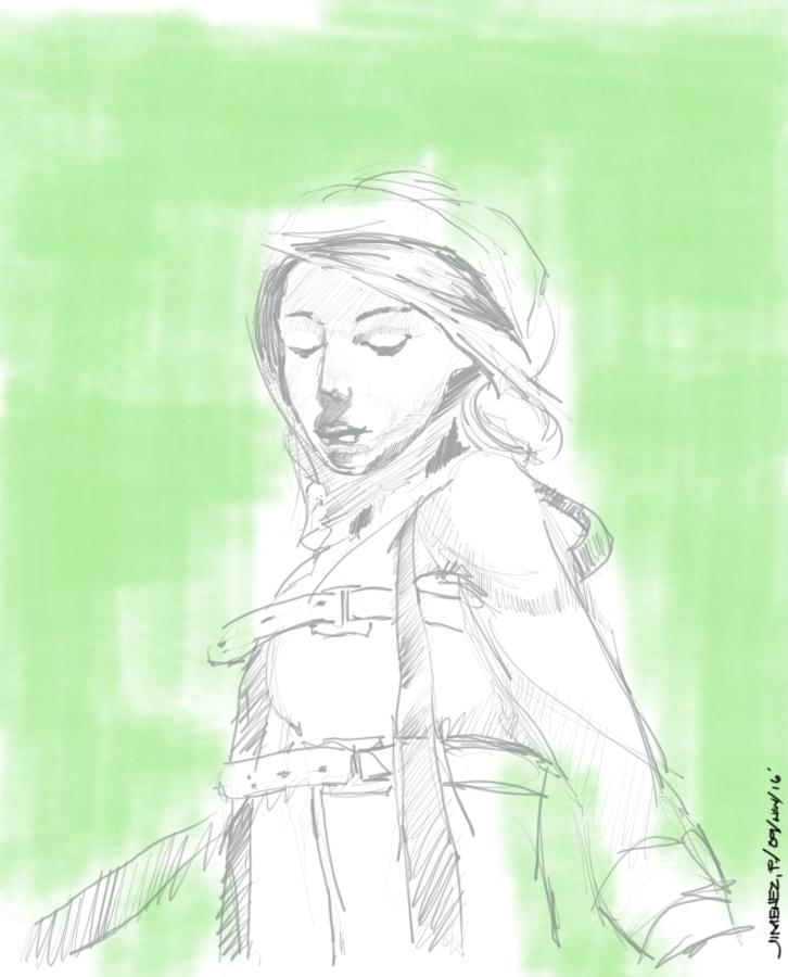 Posture sketch by patjimz