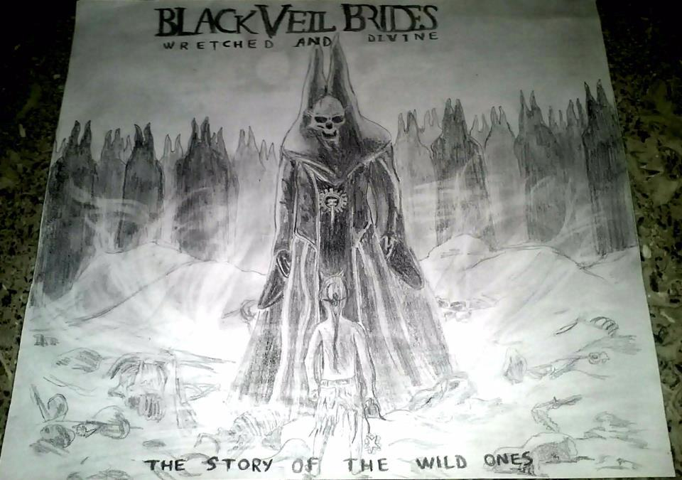 Black Veil Brides - Wretched And Divine by tex95 on DeviantArt