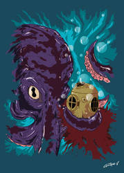Octopus Attack by Gvs-13