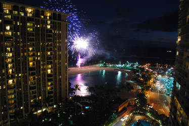 Hawaii Fireworks by Subastral