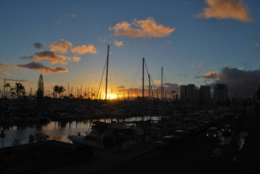 Hawaii Sunset by Subastral