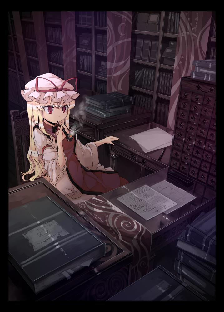 Yukari's office by garnet-3a