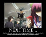 Angel Beats Vers. Demotovational Part I by CandyAppleKiss