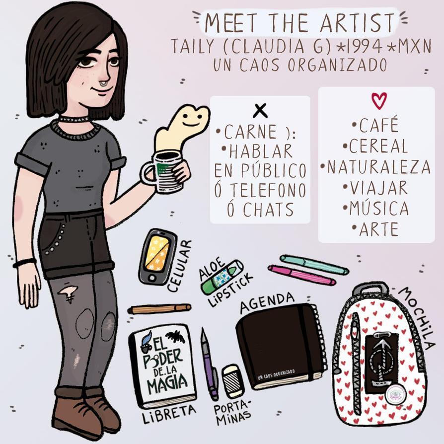 Meet the artist / un caos organizado / Taily by TailyCaos
