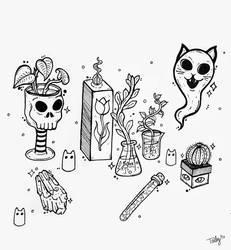 ALTAR / Inktober 3 by TailyCaos
