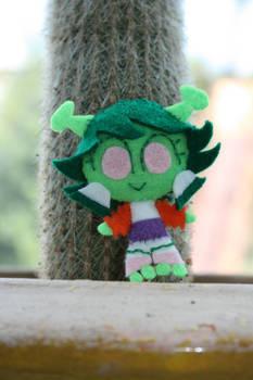 Chibi Mars with Cactus