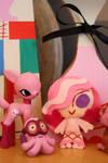 Chibi Venus and Pink Pals