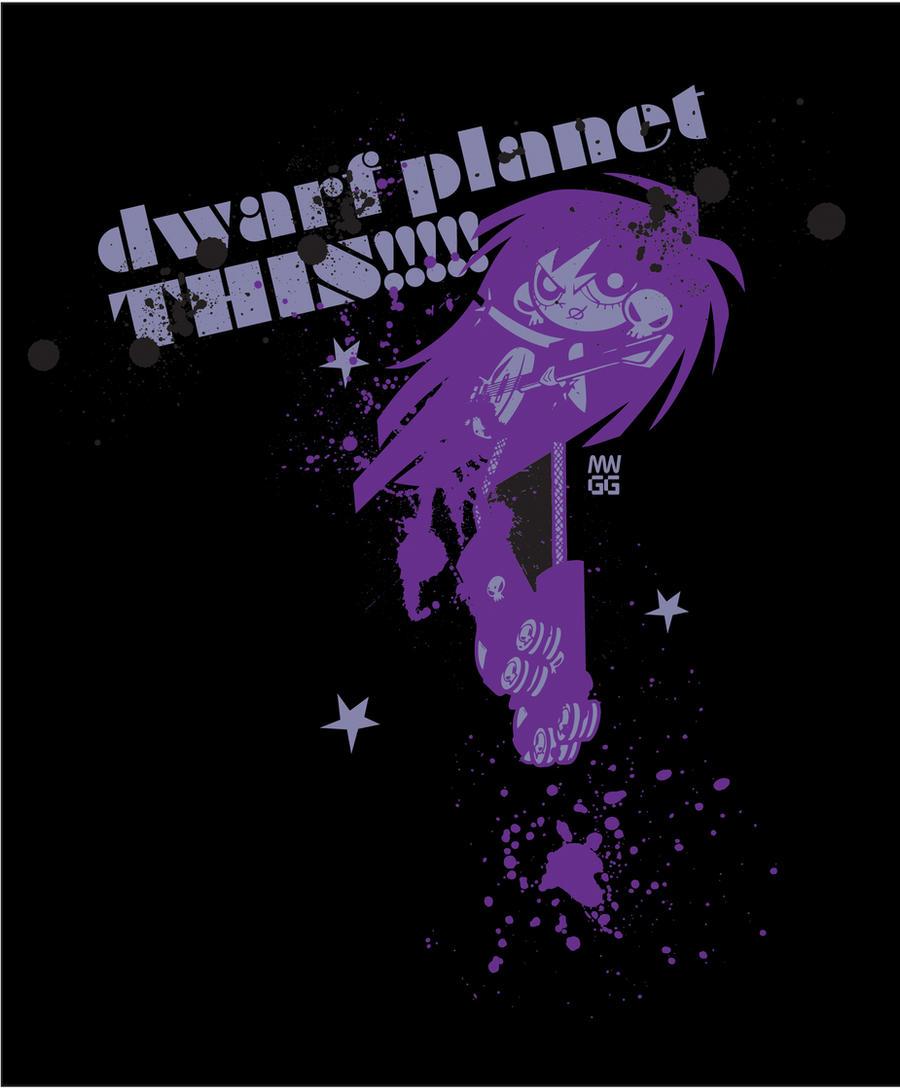 Dwarf Planet THIS by fyre-flye