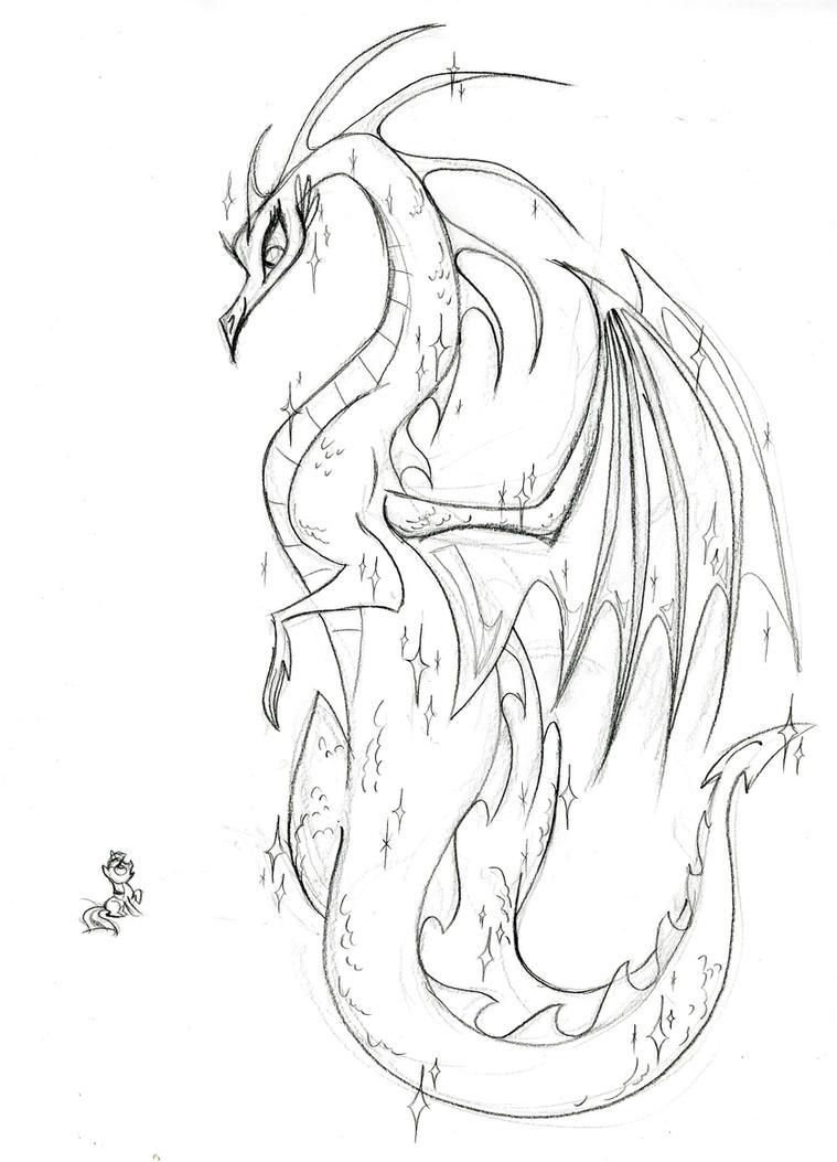 Dragon by fyre-flye