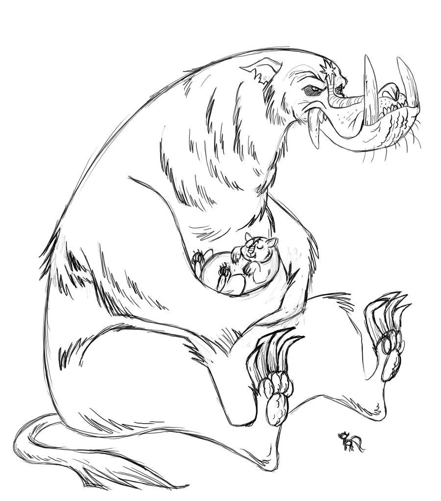 Ursa Scary by fyre-flye
