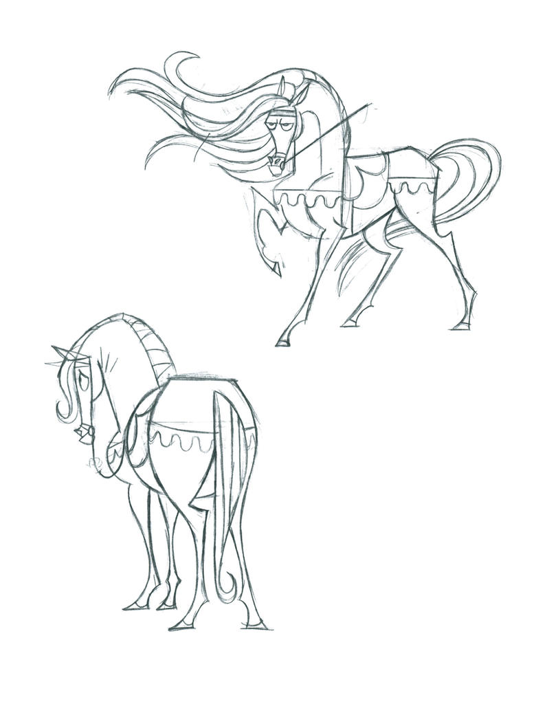 Prince Charming's Horse by fyre-flye on DeviantArt