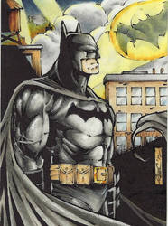 Batman contemplation psc