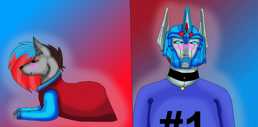 Queen and Ultra Magnus by Qp007