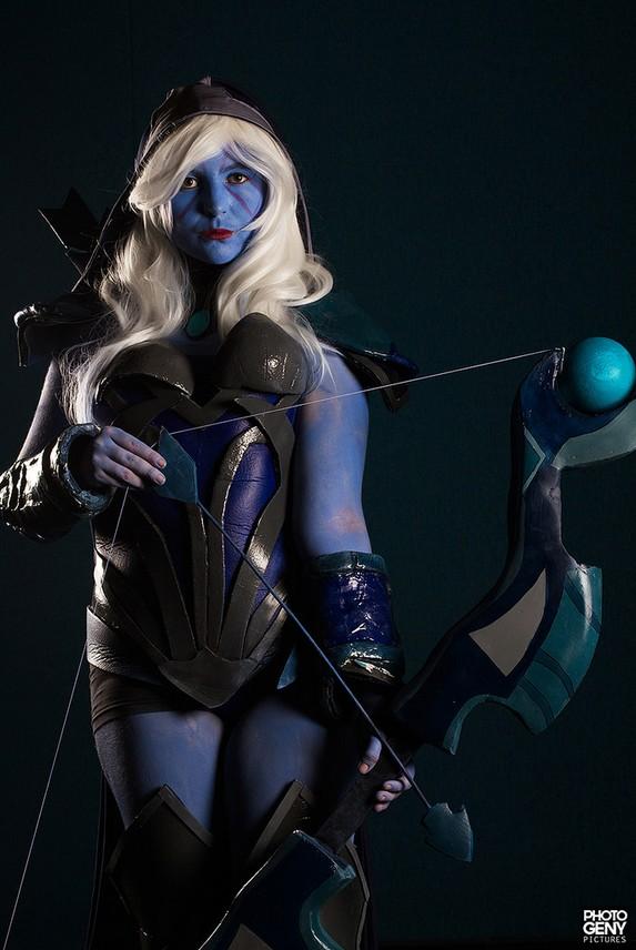 drow ranger traxex cosplay dota 2 by linkette h on deviantart