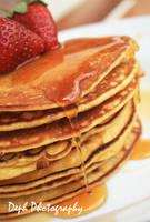 honey pancake by d3ph