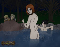 Dragon age scene by Sakatak