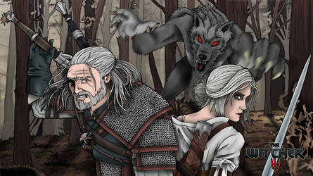 The witcher by Sakatak