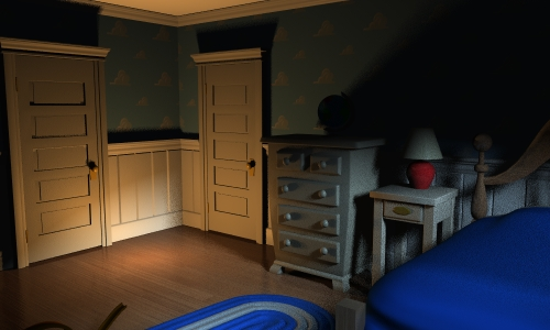 Andy S Room At Night By Gmcube On Deviantart