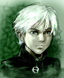 Draco Malfoy by Linnpuzzle
