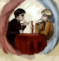 Good Omens by Linnpuzzle