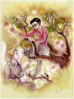 Valentine's tree by Linnpuzzle