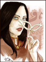 Bellatrix by Linnpuzzle