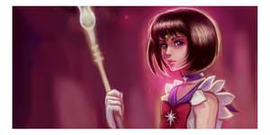 Sailor Saturn Cut by Linnpuzzle