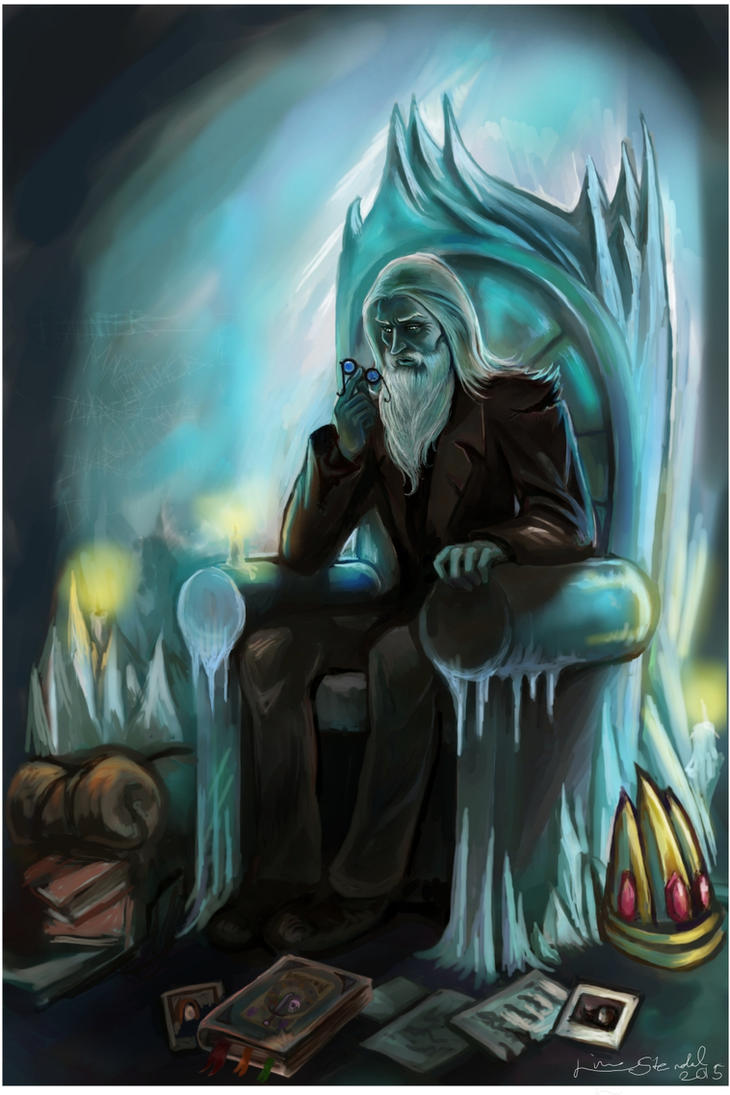 Commission: Ice King by Linnpuzzle