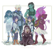 DnD group shot: Coven version
