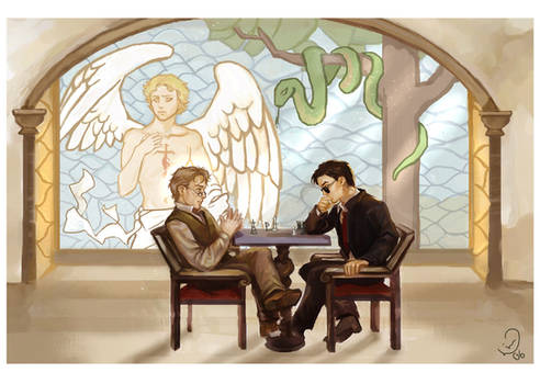 Good Omens: Chess Players