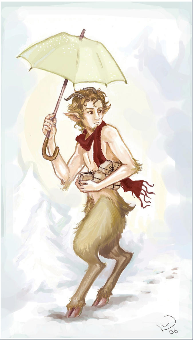 Once Upon A Time [Queen of Fable] Mr__tumnus_by_linnpuzzle