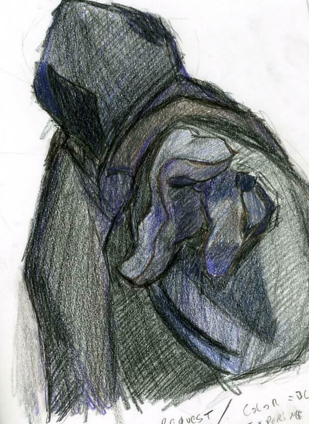 dark hooded figure by ninjacharles on DeviantArt