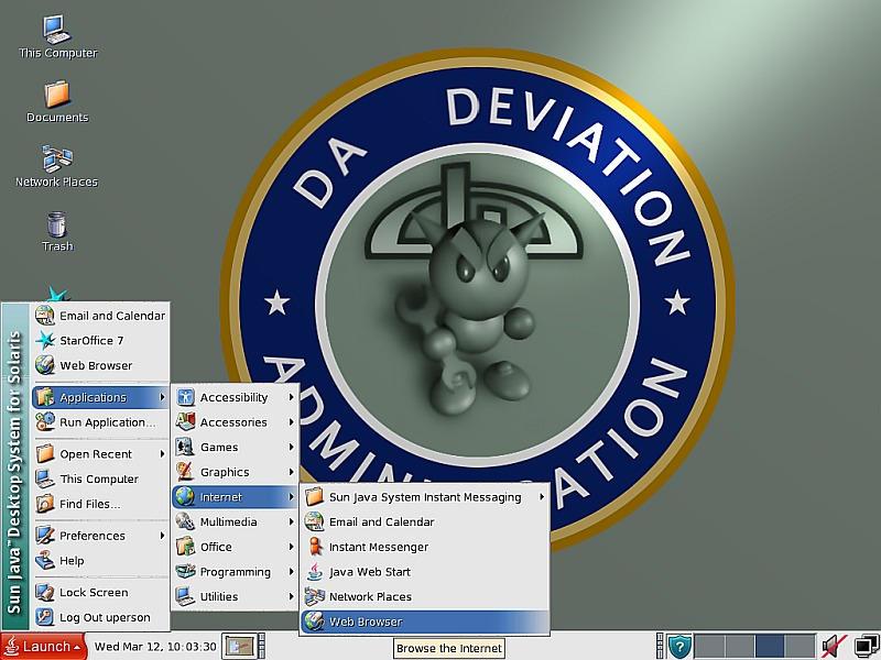 Admin Desktop
