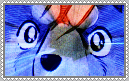 Silver Fang Stamp. by Wolflover549