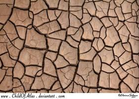 Cracked Dirt Texture - 1 by ElaineSeleneStock