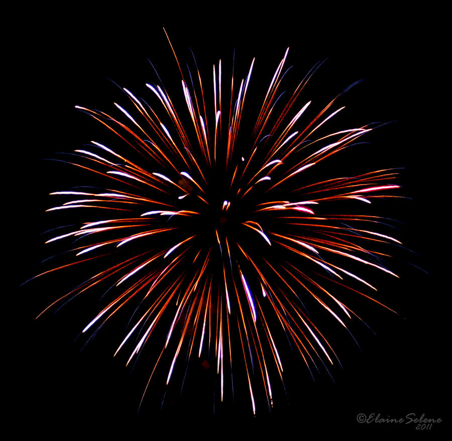 Fireworks - 3 by ElaineSeleneStock