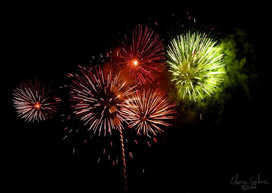 Navy Pier - Fireworks - 55 by ElaineSeleneStock