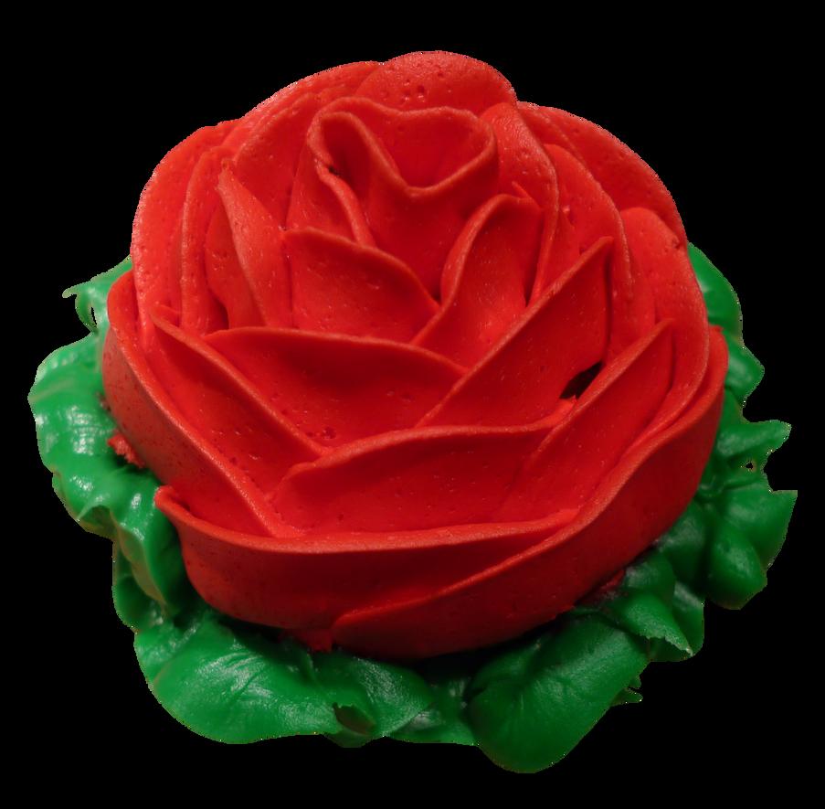 Cupcake Facebook Icon Rose cupcake frosting by