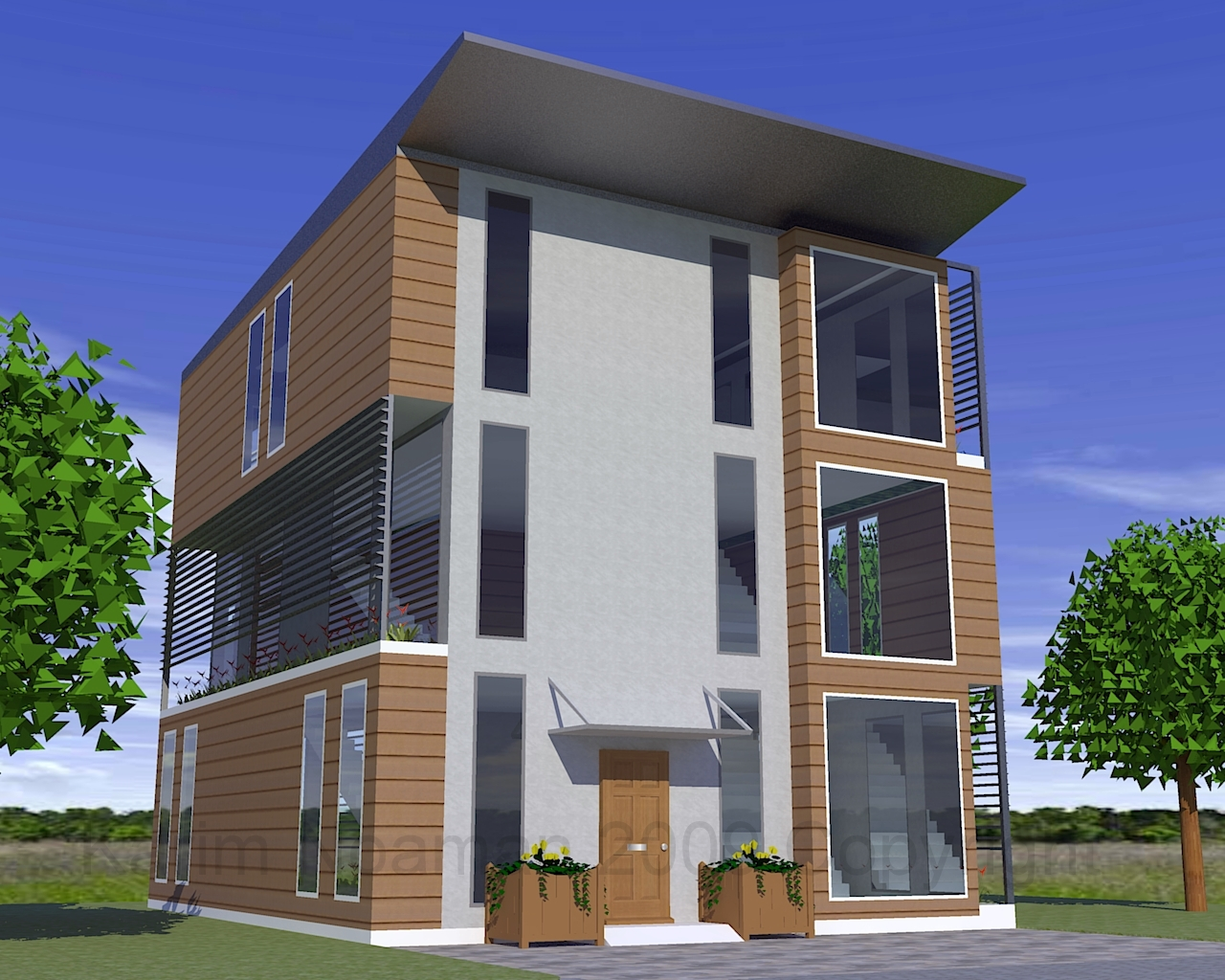 Eco House Design By Knoaman On Deviantart