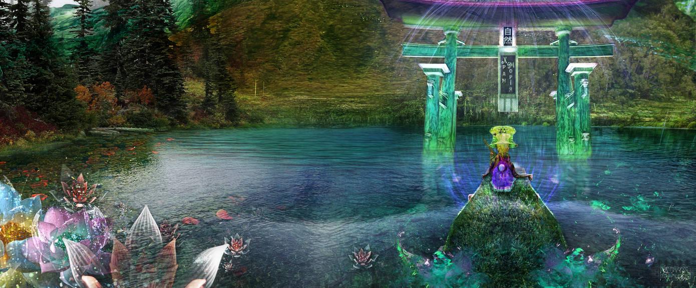 ''Lake of Faith'' [~18% Version~, 29K+ x 12K Pix.] by I-Ihrebetgatexios