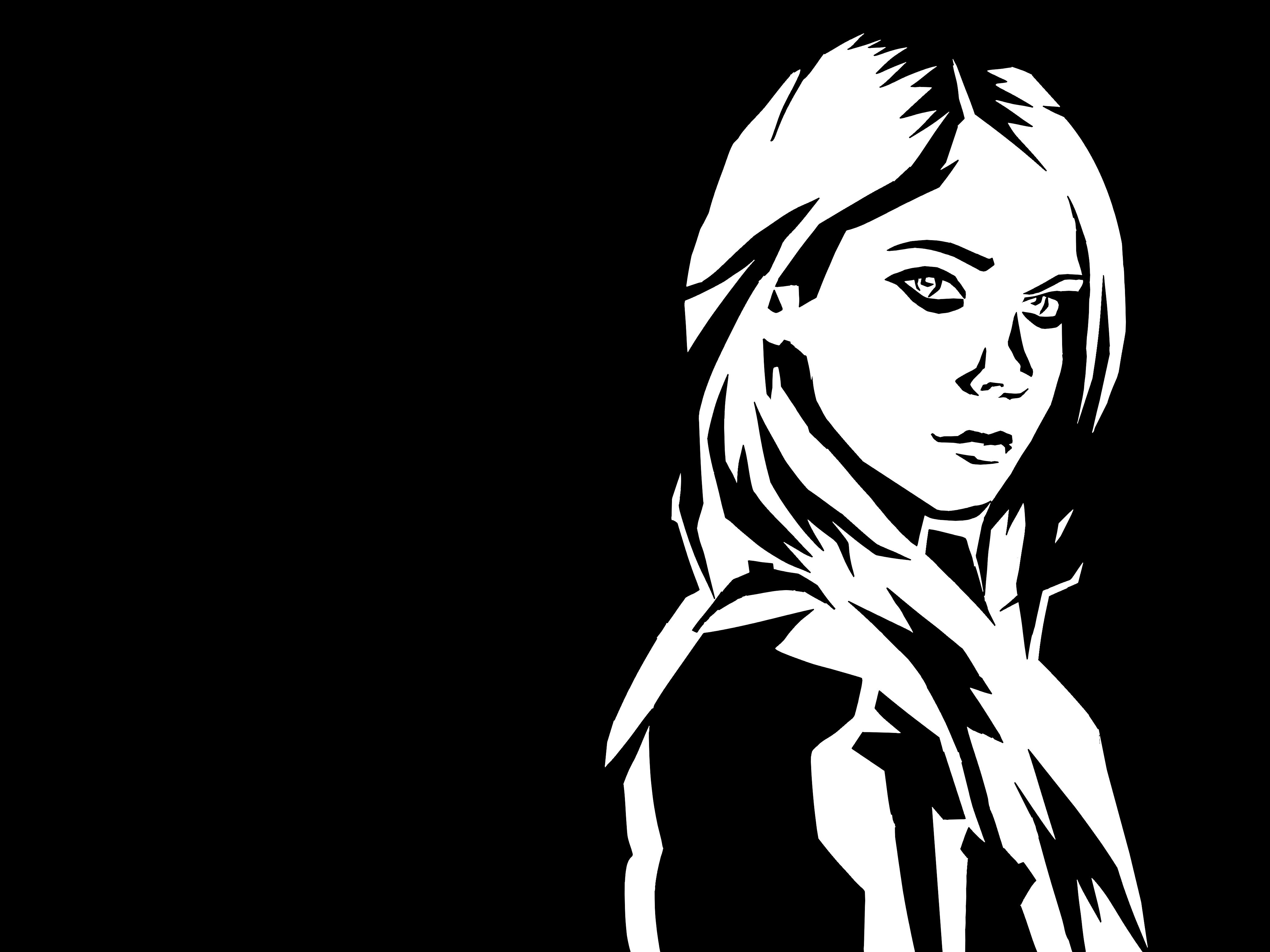 render stiker avril hitam  putih  by ari4811 on DeviantArt