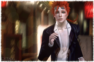FFVII Sims 2 - In trouble again by CSItaly