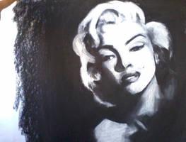 Merilyn Monroe by Koudath